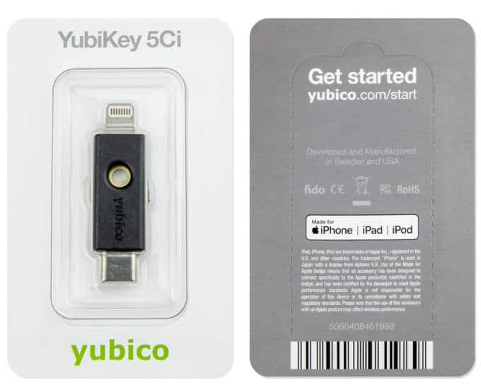 купить Yubikey 5Ci в украние
