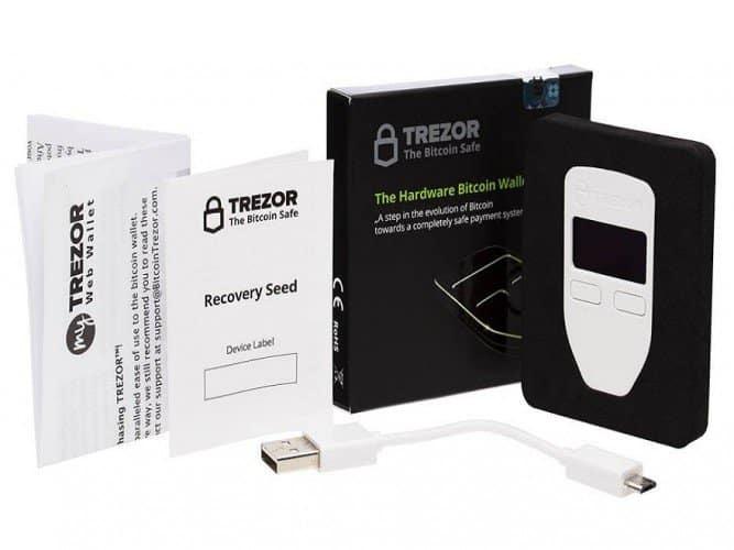 Купить Trezor One White